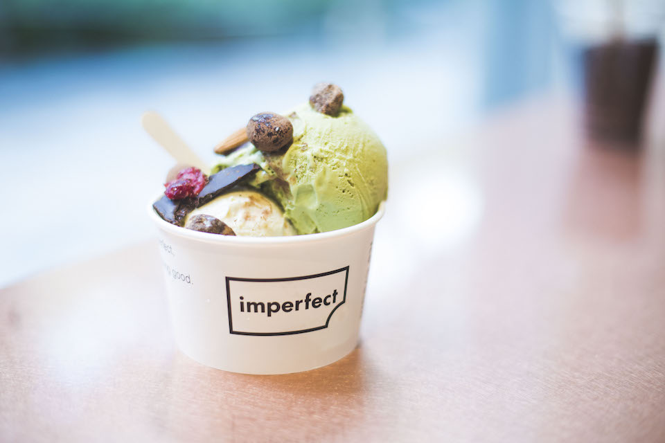「imperfect表参道」のアイスクリームは、おいしい以上の満足感