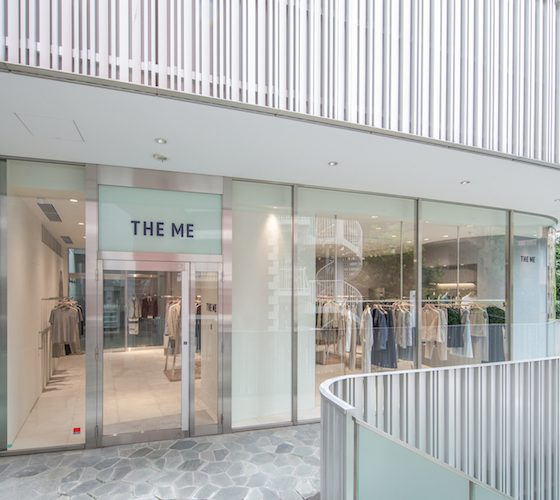 「imperfect表参道」と、サステナブルな服づくりを目指す「THE ME」がコラボレーション!