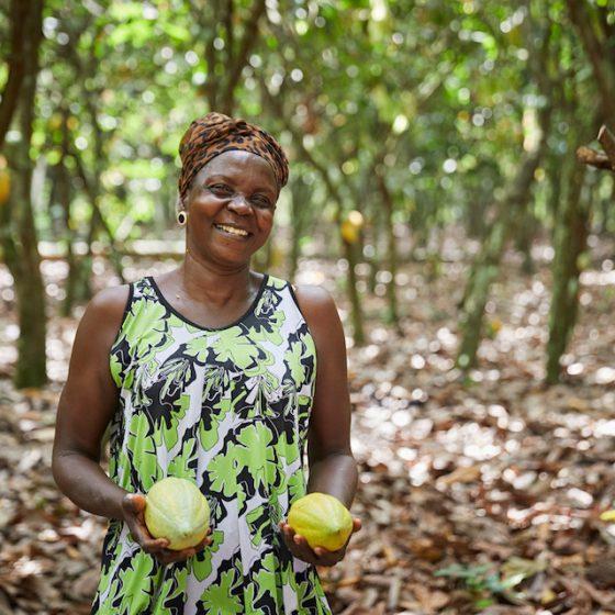 キャッサバ栽培を通じて「女性の平等」実現をサポート